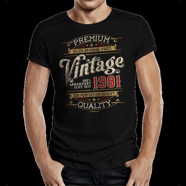 """T-Shirt """"Vintage seit 1981"""""""