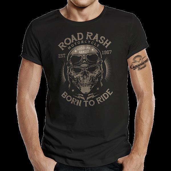 """T-Shirt """"Road Rash"""" von Gasoline Bandit"""