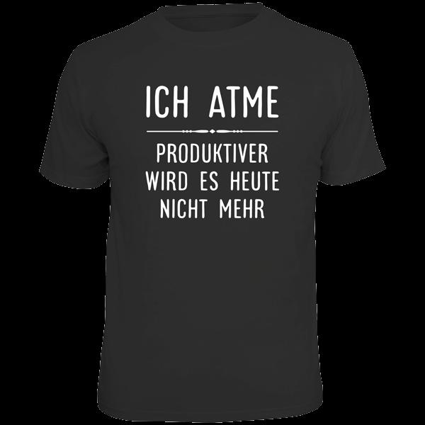 """T-Shirt """"Ich atme"""""""