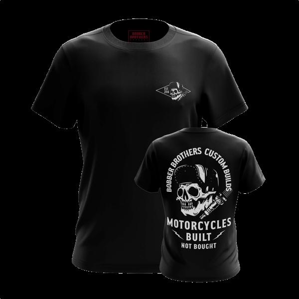 "T-Shirt ""Custom Builds"" von Bobber Brothers"