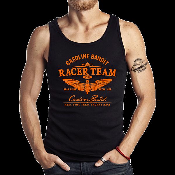 """Tank Top """"Racer Team"""" von Gasoline Bandit"""