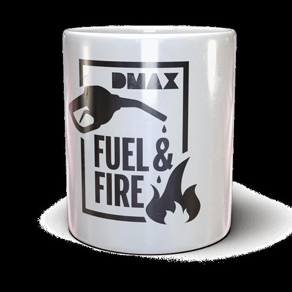 """DMAX Tasse """"Fuel & Fire"""""""