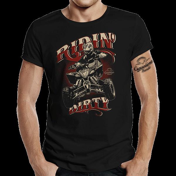 "T-Shirt ""Quad Riding"" von Gasoline Bandit"