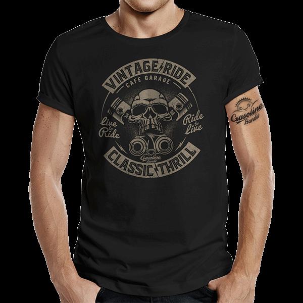 """T-Shirt """"Classic Thrill"""" von Gasoline Bandit"""