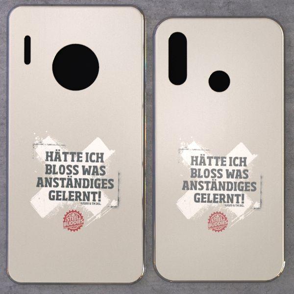 """Steel Buddies Cover """"Gelernt"""" für Huawei Mate Modelle"""