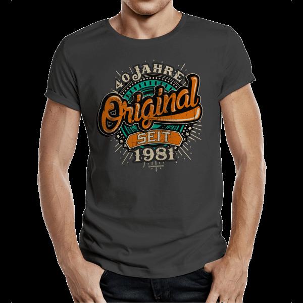 """T-Shirt """"Original seit 1981"""""""