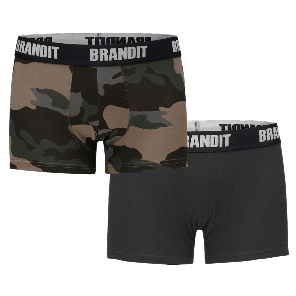 """Boxershorts """"Logo"""" von Brandit (2er Pack)"""