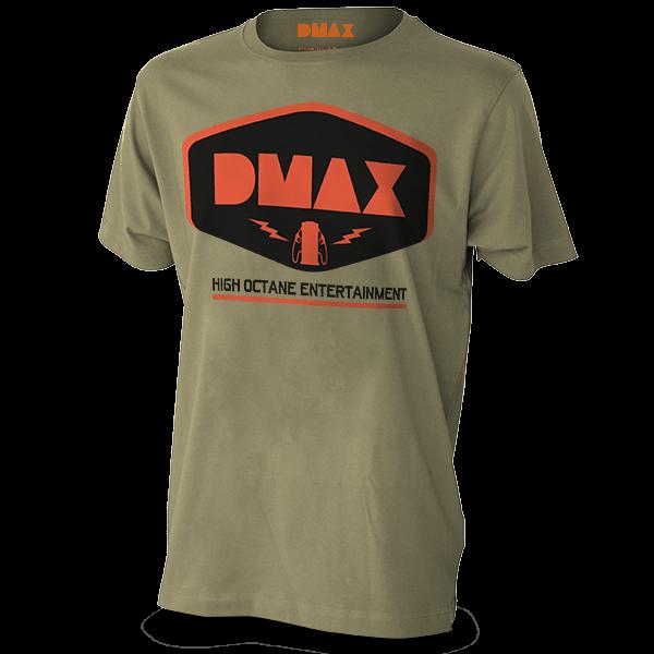 """DMAX T-Shirt """"High Octane Entertainment"""""""