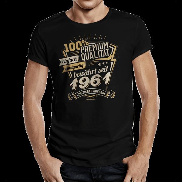 """T-Shirt """"Premium Qualität seit 1961"""""""