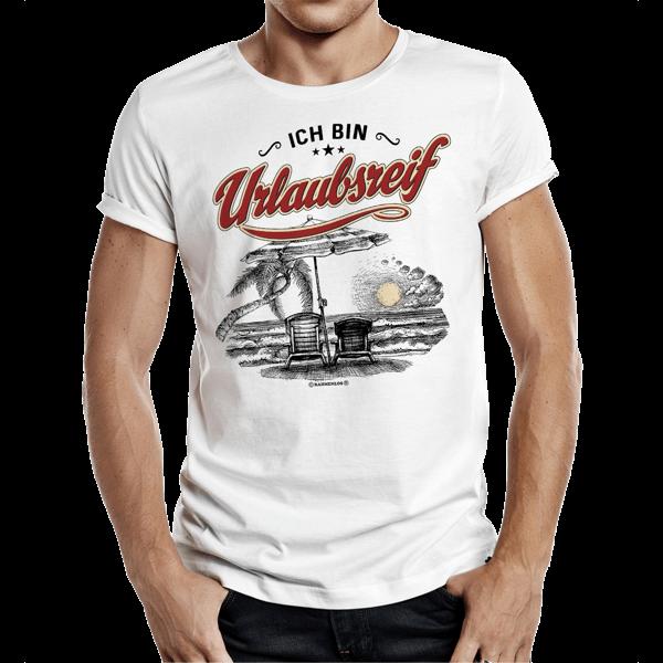 """T-Shirt """"Urlaubsreif"""""""