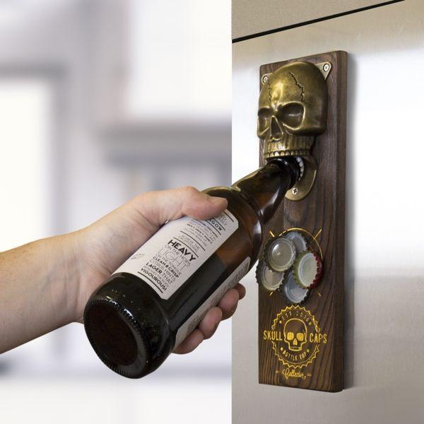 """Magnetischer Flaschenöffner """"Skull"""""""